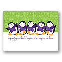 Penguin Pals - Purple Ribbon