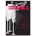 Cocktails - Party Invitation