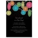 Japanese Lanterns - Party Invitation