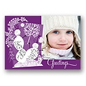 Jolly Snowmen - Purple - 2 photos