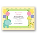Safari Party - Baby Shower Invitation