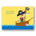A Pirate's Life - Thank You Card