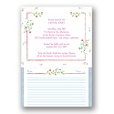 Pink Florals - Bridal Shower Invitation