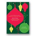 Holiday Ornaments - Invitation