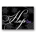 Hope Snowflakes - Purple