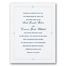 Special Sparkle Wedding Invitation