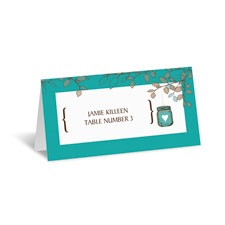 Jar Lantern Place Card