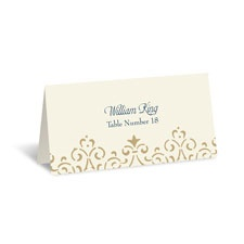 Ornate Vintage Place Card