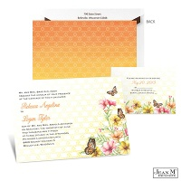 Sweet Butterflies Wedding Invitation