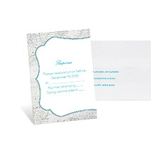 Tropical Destination Response Card and Envelope
