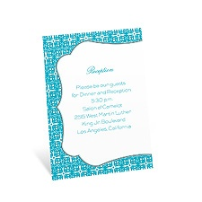 Tropical Destination Reception Card