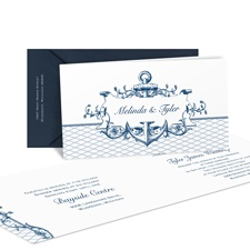 Love Sets Sail Wedding Invitation