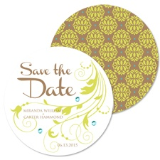 Natural Bloom Save the Date