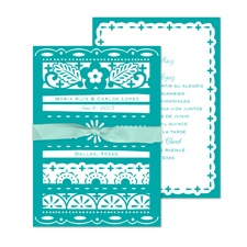 Design Sampler Wedding Invitation