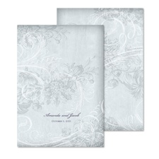 Whispered Filigree Wedding Invitation