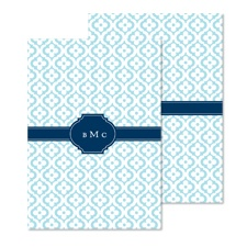 Mosaic Crest Wedding Invitation - Midnight