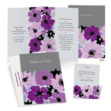 Sweetest Petals Wedding Invitation