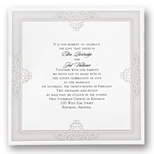 Grand Impression Wedding Invitation