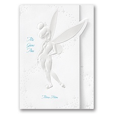 Tinkerbell Quinceanera Invitation