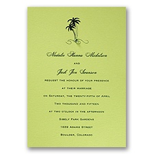 Margarita Wedding Invitation