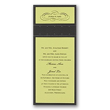 Margarita Layered Wedding Invitation