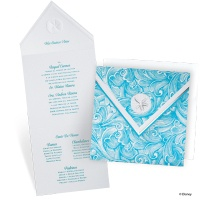 Shimmering Seas Quinceanera Invitation - Ariel