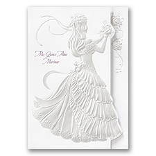 Rose Princess Quinceanera Invitation