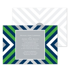 Bold Lines Wedding Invitation