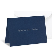 Midnight Note Card and Envelope