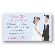 Stylish Couple Calling Cards