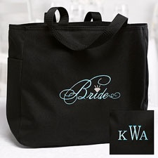 Stylish Bride Tote Bag