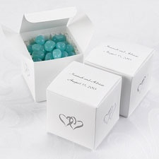 Two Hearts Favor Boxes