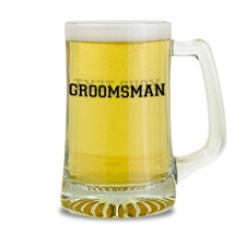 Groomsman Glass Mug