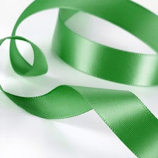 Grass Satin Ribbon