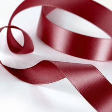 Merlot Satin Ribbon