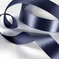 Midnight Satin Ribbon