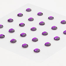 Purple Rhinestone