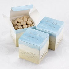 Beautiful Beach Favor Boxes