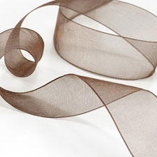Espresso Sheer Ribbon