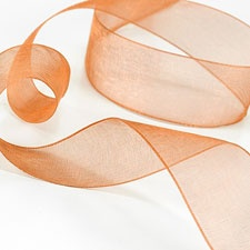 Orange Sheer Ribbon