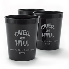 Black Personalized Cup