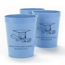 Light Blue Personalized Cup