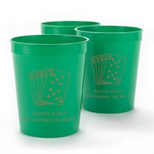 Green Personalized Cup
