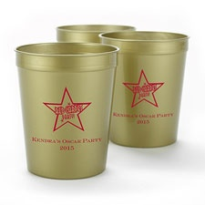 Metallic Gold Personalized Cup