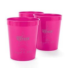 Fuchsia Personalized Cup