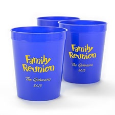 Royal Blue Personalized Cup