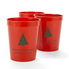 Red Personalized Cup