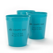 Teal Personalized Cup