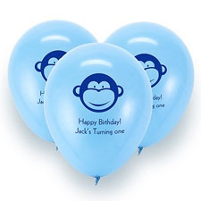 Baby Blue Custom Balloon