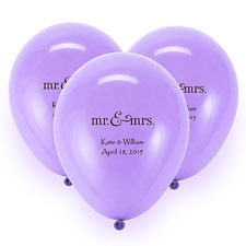 Lavender Custom Balloon